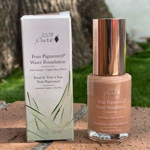 (FREE GIFT W/ PURCHASE) 100%pure water foundation